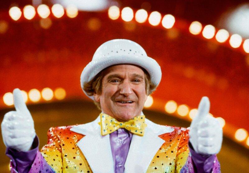 Quel personnage de bande dessinée Robin Williams a-t-il incarné ?