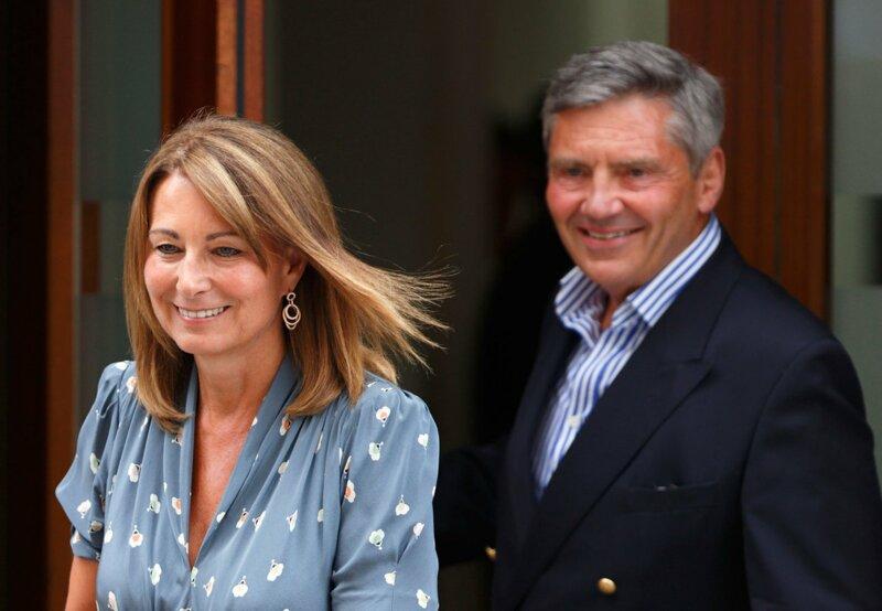 Comment s'appellent les parents de Kate Middleton?