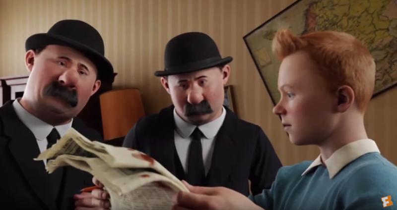 Quel personnage emblématique de la BD ne figure pas dans le film Les Aventures de Tintin ?