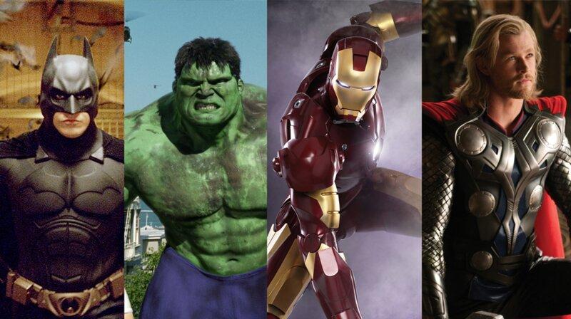 Parmi ces super-héros, lequel n'appartient pas à l'écurie Marvel ?